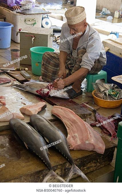 fish market, Mutrah, Oman