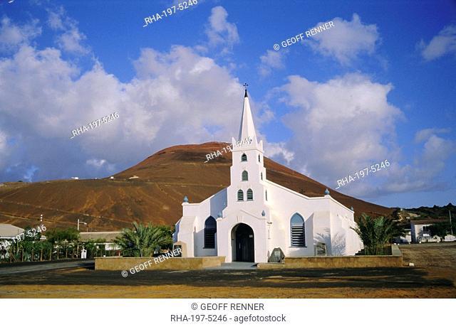 St. Mary's church, Ascension Island, mid-Atlantic Ocean, Mid Atlantic