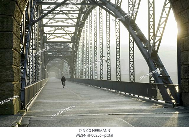 Germany, Hamburg, Old Elbbruecke