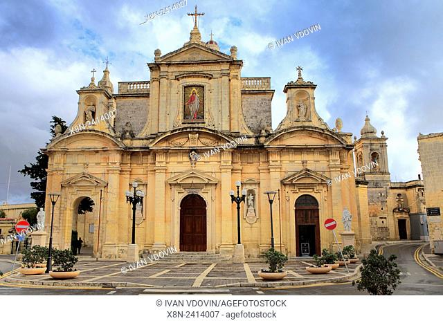 St. Paul's church (1681), Rabat, Malta