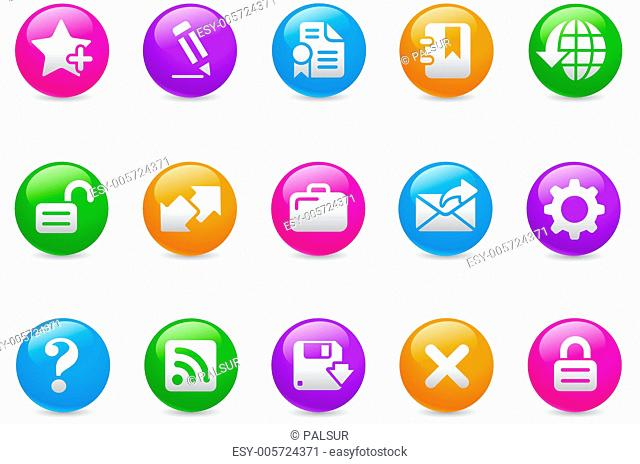Web Site & Internet Plus // Rainbow Series