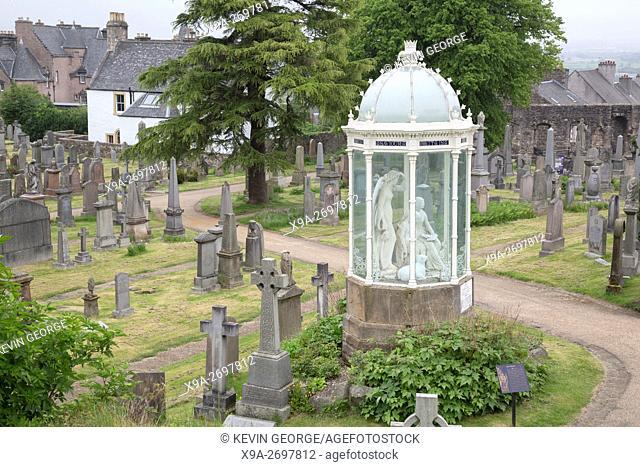 The Statues, Old Kirkyard - Churchyard, Stirling, Scotland, UK, Europe