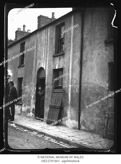 Mary Ann Street, Cardiff, 19 June 1893. Creator: William Booth