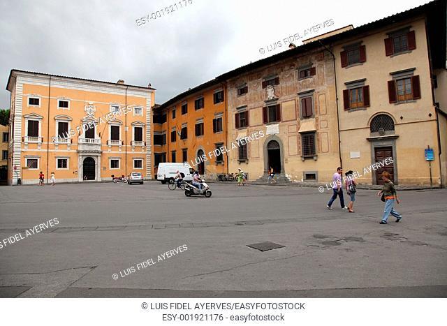Piazza dei Cavalieri, Monument, Tuscany, Italy