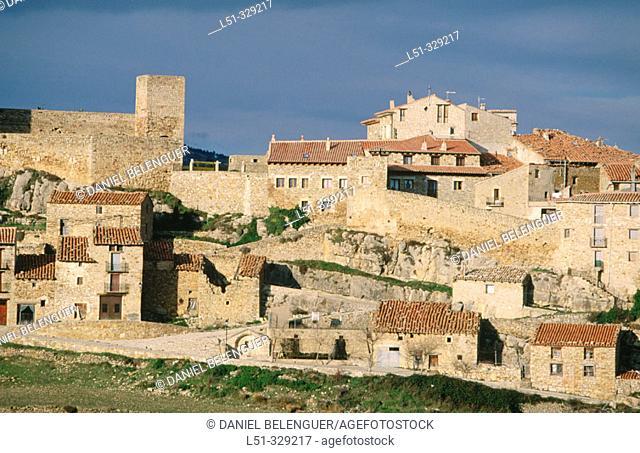 Puertomingalvo. Teruel province. Aragón. Spain