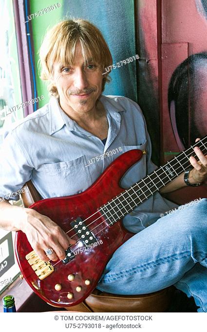 Bass player, Melbourne, Victoria, Australia
