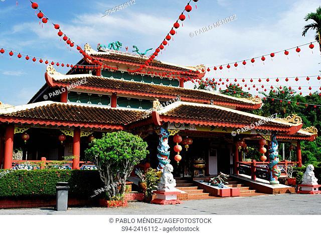 Chinese temple of Bau in Sarawak, Malaysia, Borneo