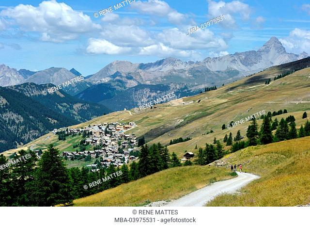 France, Hautes-Alpes, Parc Naturel Regional du Queyras, Saint-Veran village, Les Plus Beaux Villages de France, highest municipality in Europe (2040m)