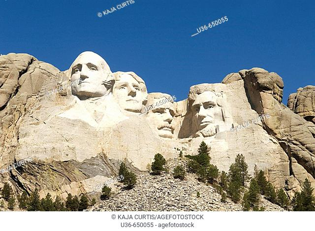 Mount Rushmore National Monument. South Dakota, USA
