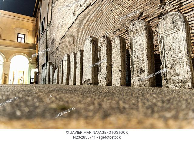 Baths of Diocletian, Rome, Italy