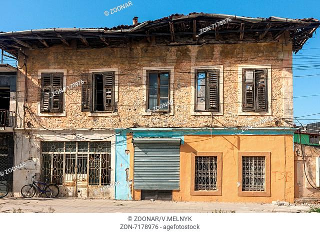 The one old house in Albanian city Shkodra