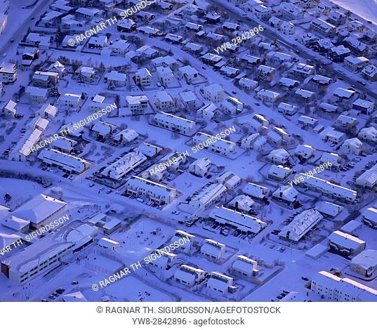 Wintertime Reykjavik, Reykjavik, Iceland