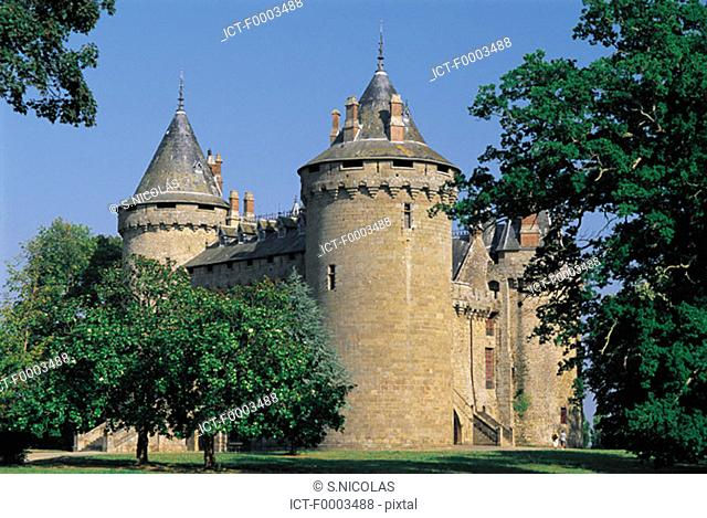 France, Brittany, Combourg Castle