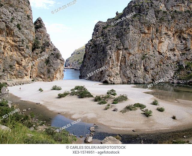 Torrent de Pareis, Mallorca, Spain