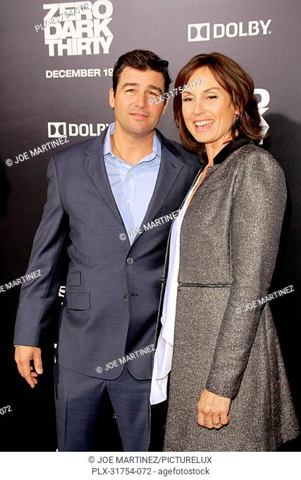 Kyle Chandler and Kathryn Chandler at the Premiere of Columbia Pictures' Zero Dark Thirty. Arrivals held at the Dolby Theatre in Hollywood, CA, December 10