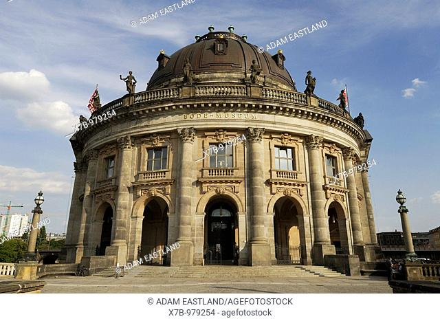 Berlin  Germany  Bode Museum on Museum Island, housing the sculpture collection and Museum of Byzantine Art