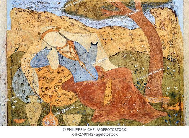 Iran, Isfahan, Chehel Sotun palace, painting, Safavide era