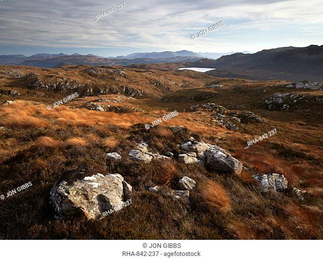 A beautiful view from Plockton Crags, Plockton, Ross Shire, Scotland, United Kingdom, Europe