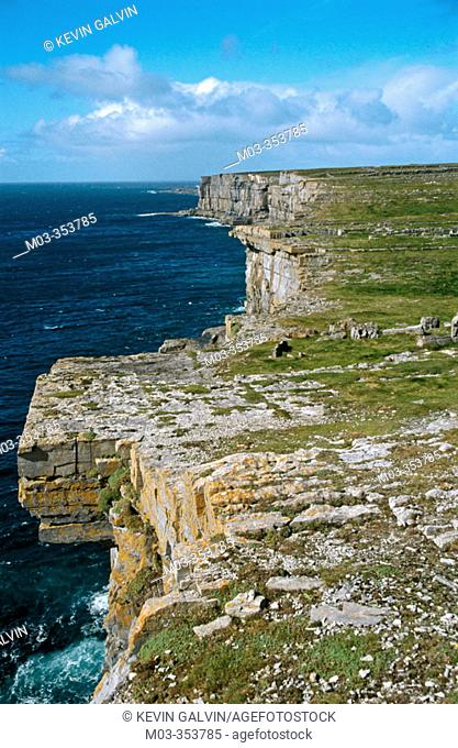 Inishmore, one of the Aran Islands, Co. Galway. Ireland
