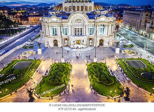 Palacio de Bellas Artes,Juarez avenue, Mexico City, Mexico