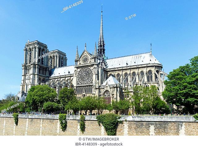 Notre-Dame Church, Unesco World Heritage Site, Paris, France