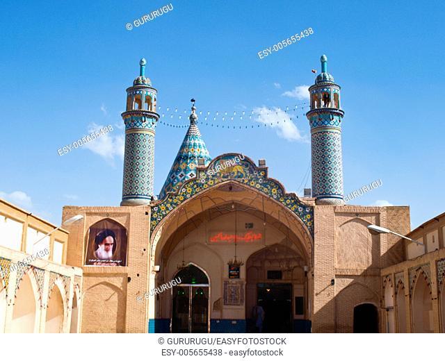 Imamzadeh-ye Sultan Mir Ahmad shrine, Kashan, Iran