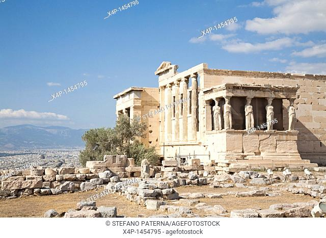 Erechtheion, Acropolis, Athens Greece