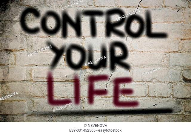 Control Your Life Concept