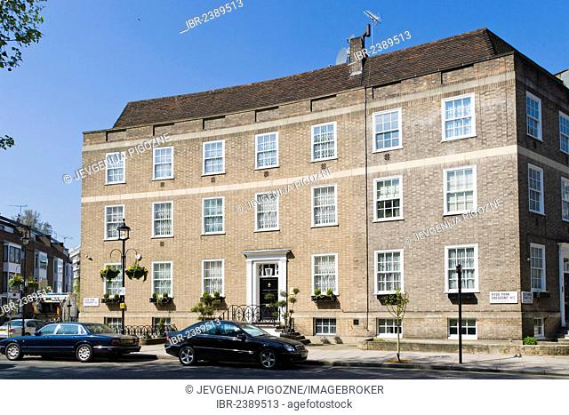 Hyde Park Crescent, Paddington, London, England, United Kingdom, Europe