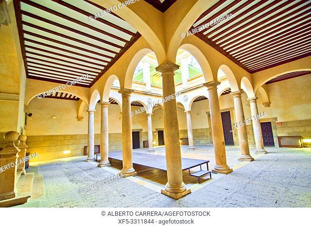 Palacio de los Castejones, 16th Century Civil Architecture, Ã. greda, Soria, Castilla y León, Spain, Europe