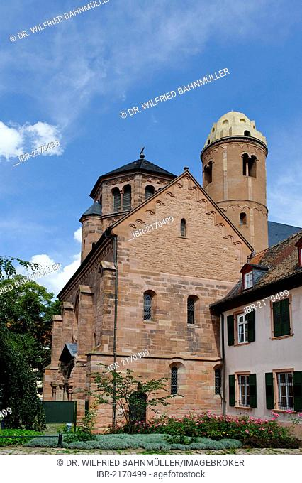 St. Paulus church, Worms, Rhineland-Palatinate, Germany, Europe