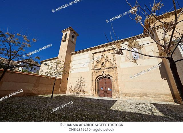Monasterio Santa Isabel la Real, Granada, Andalusia, Spain, Europe