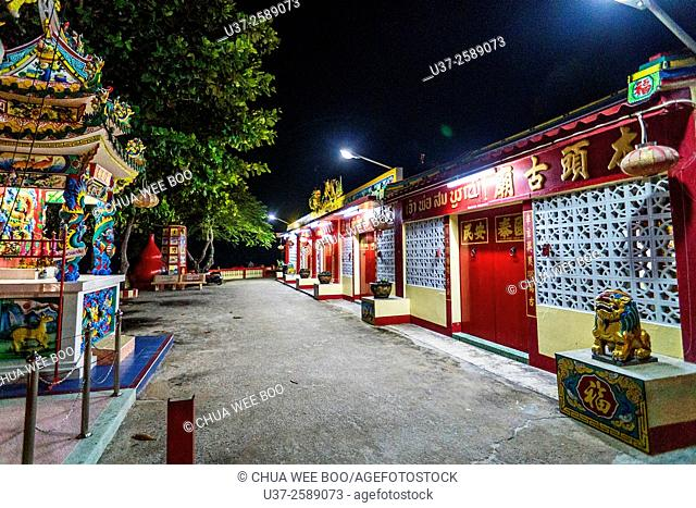 A chinese temple in Hua Hin, Thailand