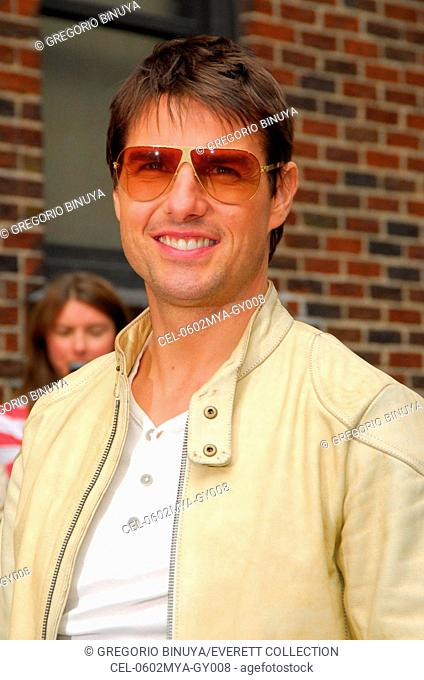 Tom Cruise at arrivals for The Late Show with David Letterman, The Ed Sullivan Theater, New York, NY, May 02, 2006. Photo by: Gregorio Binuya/Everett Collection