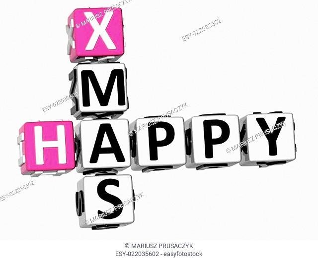 3D Happy Xmas Crossword