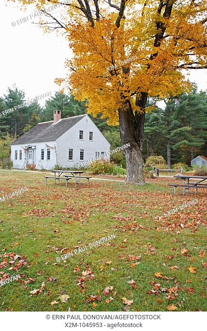 The Russell-Colbath Historic Homestead site located along the Kancamagus Highway route 112, which is one of New England's scenic byways in the White Mountains