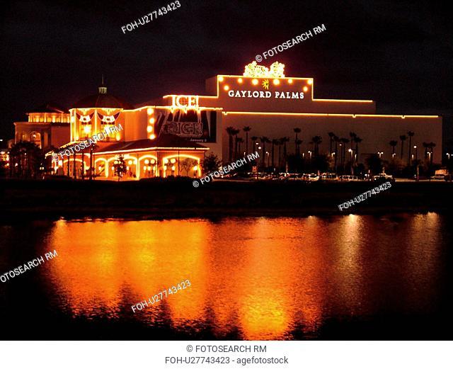 Orlando, FL, Florida, Gaylord Palm Resort and Convention Center, evening