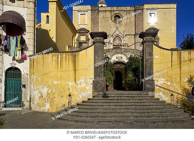 Naples Campania Italy. San Giovanni a Carbonara church