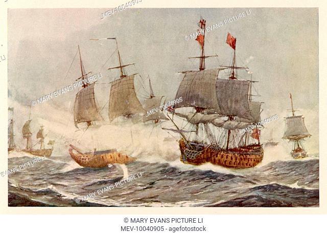 the battle of quiberon bay