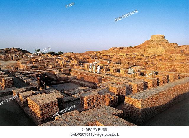 PAKISTAN Moenjodaro ruins