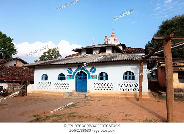 Temple, Erdka Village, Chattisgarh, India
