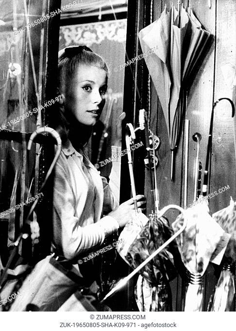 Aug. 5, 1965 - London, England, U.K. - Actress CATHERINE DENEUVE (born 22 October 1943) is a two-time Cesar Award-winning