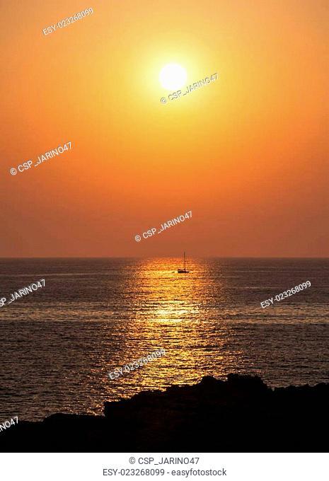 Sunset at Malta