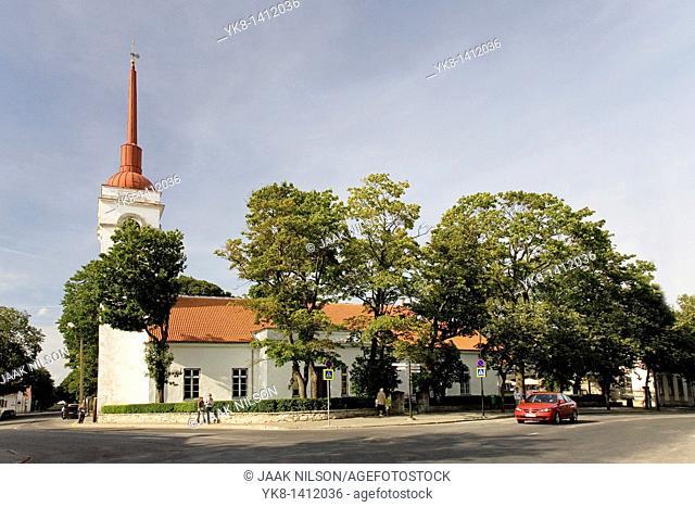 St  Laurence Church in Kuressaare, Saare County, Estonia