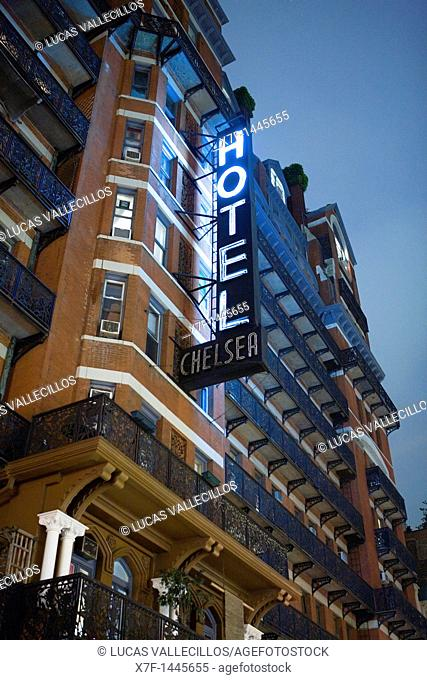 Chelsea Hotel  222 West 23 rd St,New York City, USA