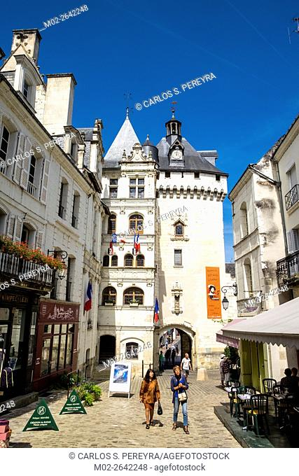 Loches, Indret-et-Loire, Loire Valley, France, Europe