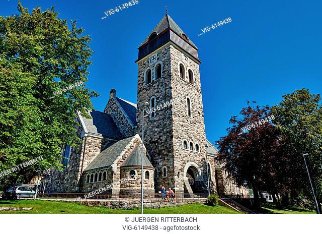 NORWAY, ÅLESUND, 30.06.2018, Ålesund church, Ålesund, Norway, Europe - Ålesund, Møre og Romsdal, Norway, 30/06/2018