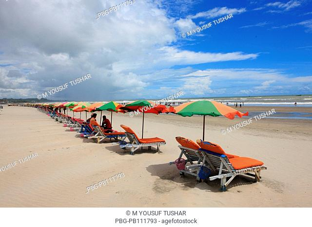 The worlds longest stretch of uninterrupted beach has made Coxs Bazar, a popular tourist spot Bangladesh