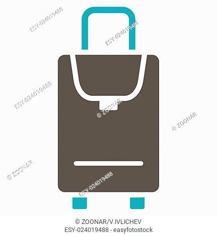 Carryon Flat Icon