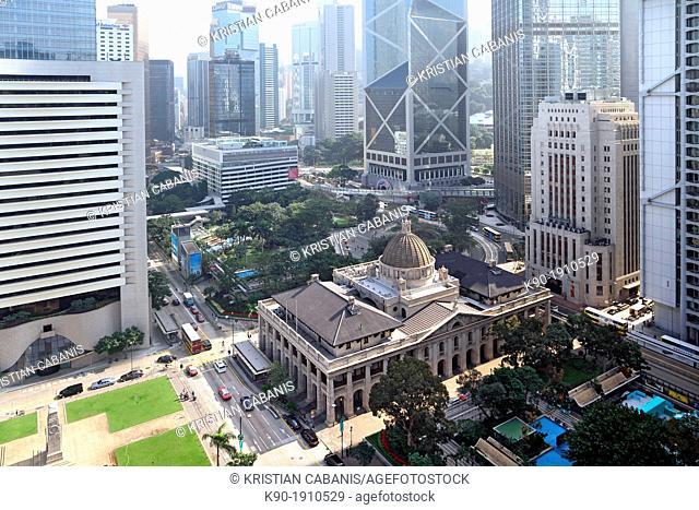 Old Court, Central, Hong Kong Island, Hong Kong, China, Asia